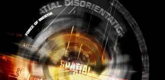 abstract graphic of spatial disorientation