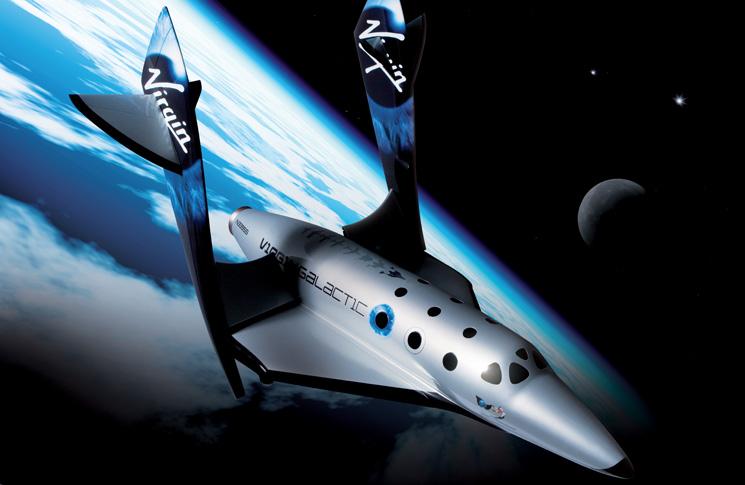 Virgin Galactic's SpaceShip Two