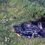 Airship accident site Photo: Investigation Report (www.bfu-web.de)