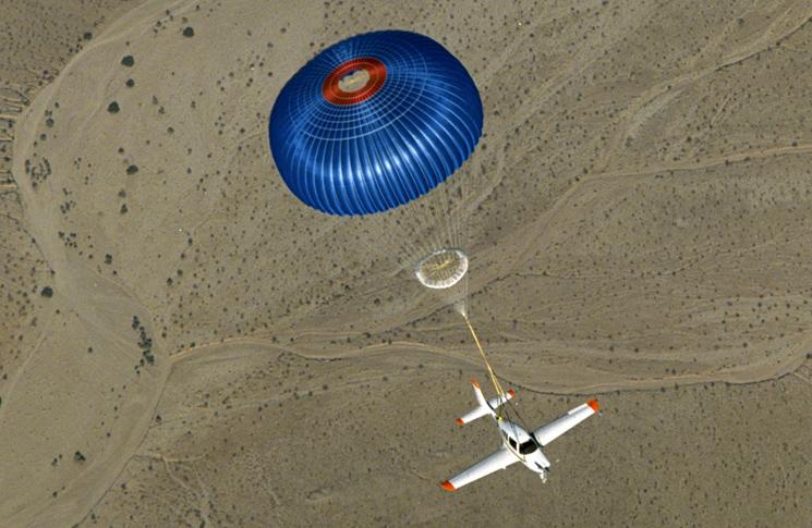 BRS parachute