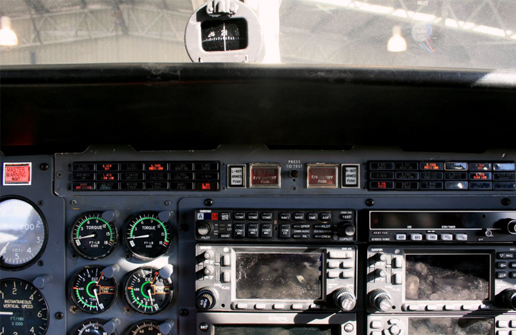 Cessna conquest instrument panel