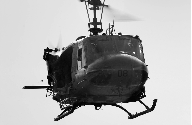 Bell UH-1H Iroquois helicopter