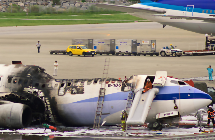 It Was Almost All Over The Destruction Of China Airlines