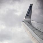 Ryanair wing tip