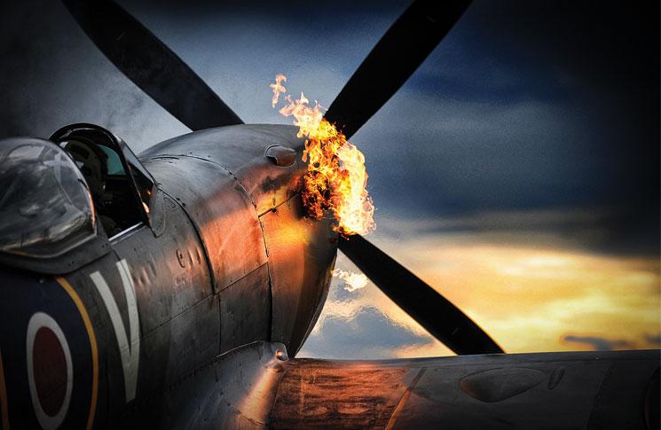 Spitfire Anniversary Flight Safety Australia
