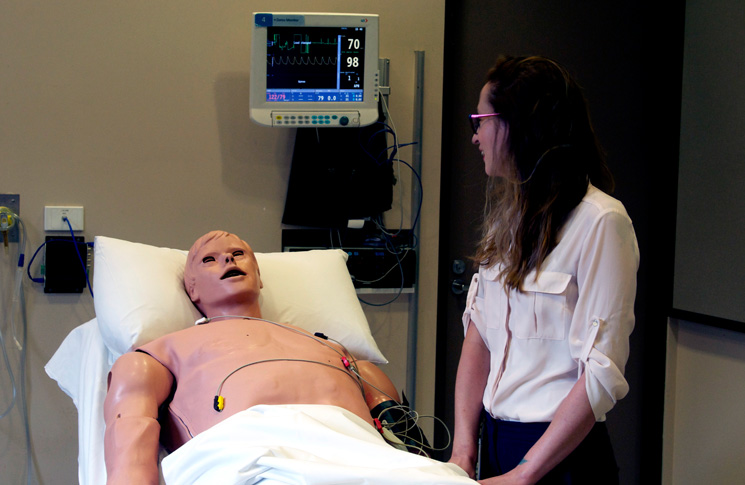 photo: © CASA | Vincent at St Vincent's Hospital's Clinical Education and Simulation Centre, in Melbourne