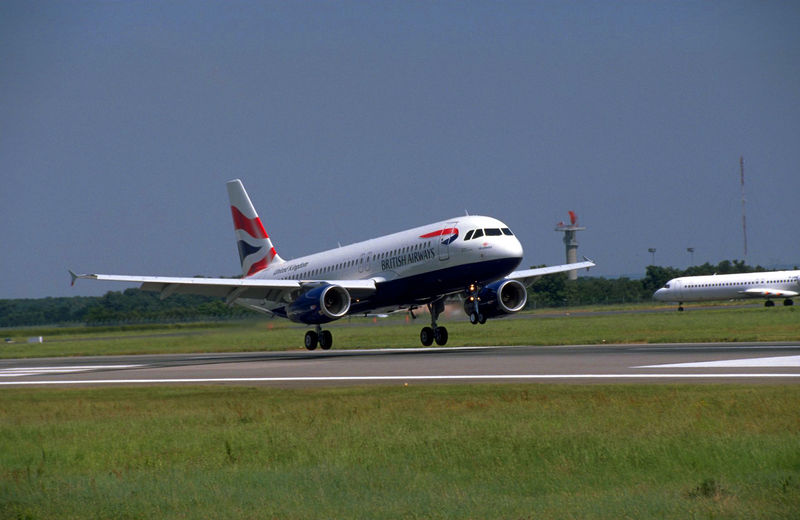 British Airways Airbus A320 aircraft