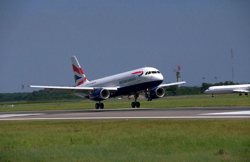 British Airways Airbus A320 aircraft