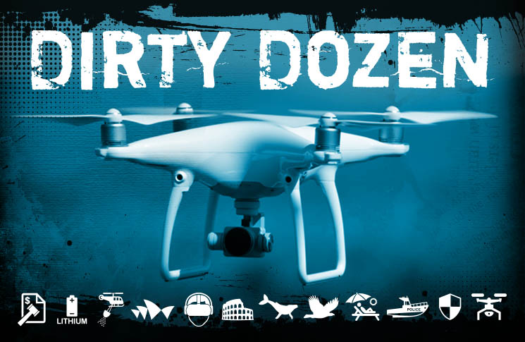 Dirty Dozen: 12 ways your drone can land you in trouble | Flight