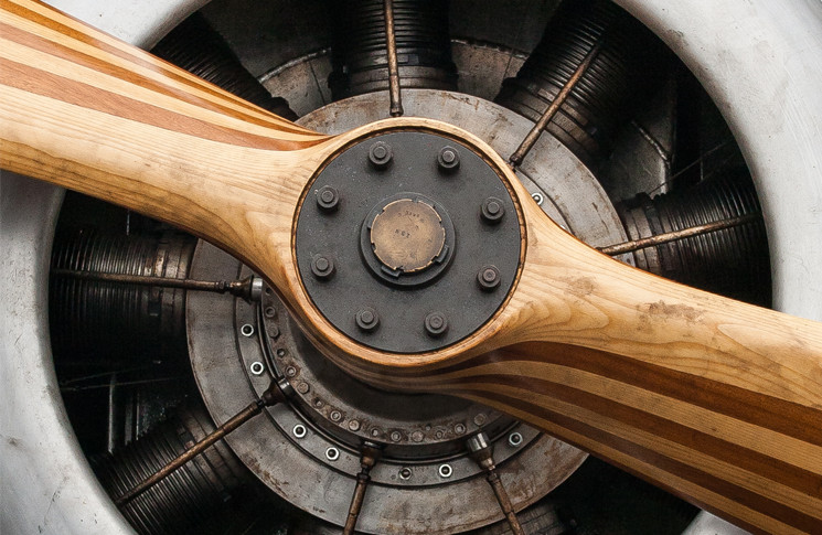 image: © Neil Kellie _ Biplane Engine