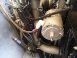 TWH engine fuel & oil hoses not firesleeved