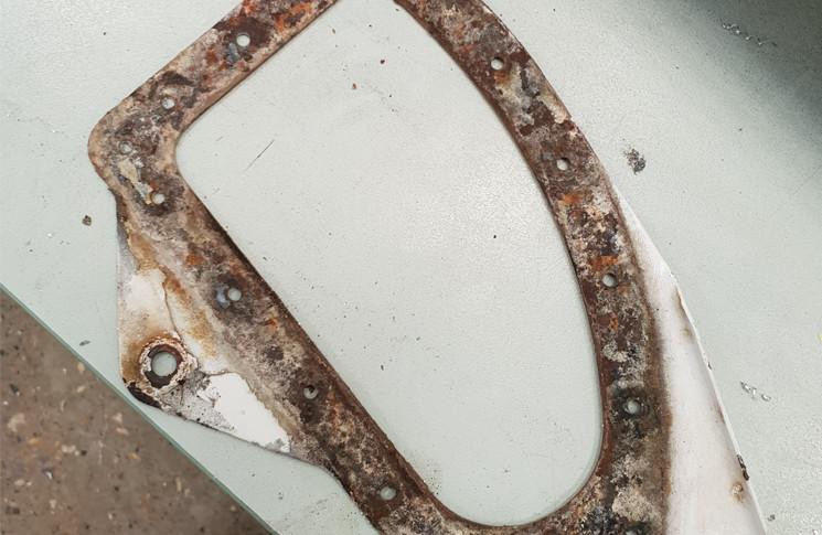 CESSNA 152–ATA 5511 HORIZONTAL STABILISER, SPAR/RIB–SPAR–CRACKED.