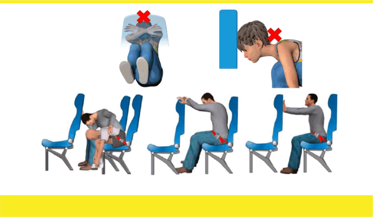 Watch How to Assume the Brace Position video