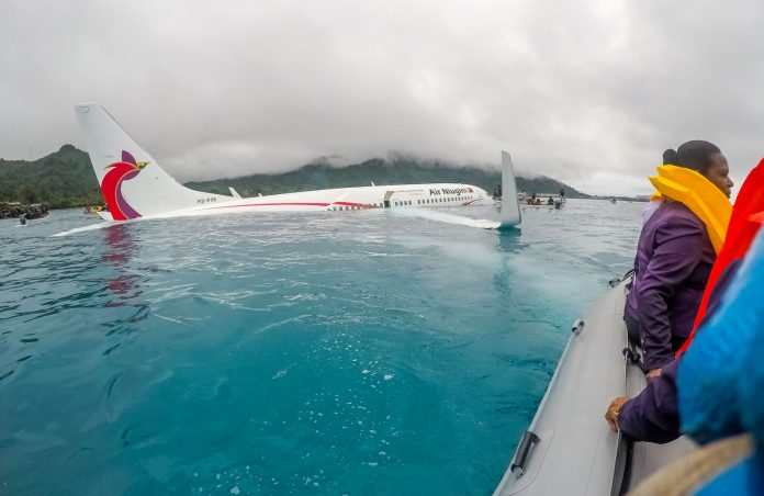 Niugini crash in micronesia