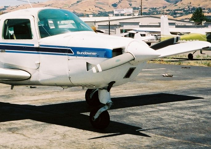 Beech Sundowner aircraft
