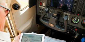 use of an EFB for flight planning