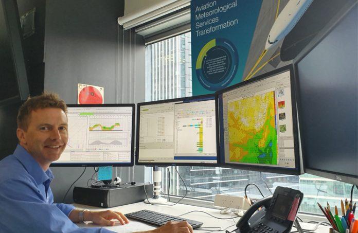 Melbourne aviation forecasting centre, Rod Dickson
