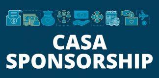 image saying 'CASA sponsorship