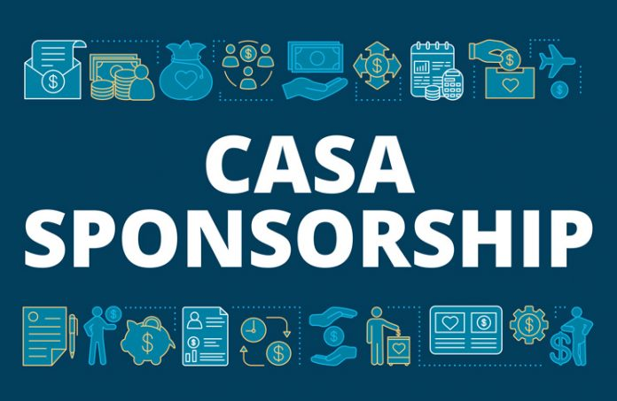 image saying 'CASA sponsorship