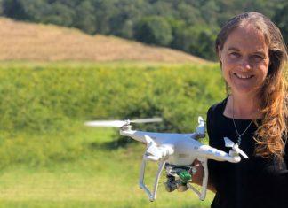 Jade King, drone operator and finger lime farmer.