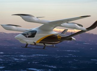 Piloted electric aircraft to be bought by UPS