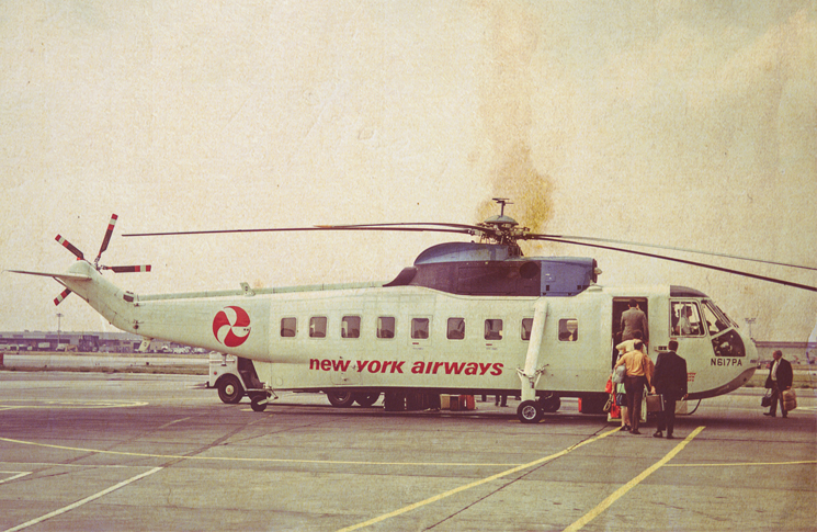 New York Airways 28-seat S61L helicopter