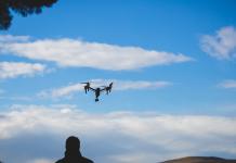 Adam Grant with drone