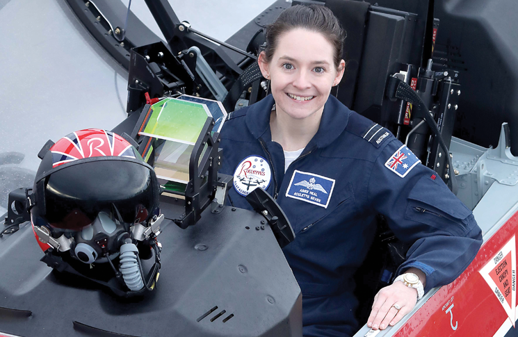 Flight Lieutenant Aimee Heal